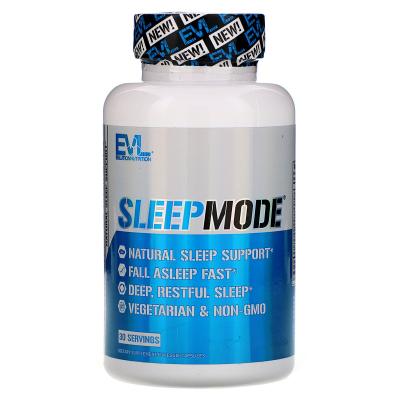 EVLution Nutrition, SleepMode, Natural Sleep Support, 60 Capsules