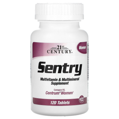 21st Century, Sentry Women, Multivitamin & Multimineral Supplement, 120 Tablets