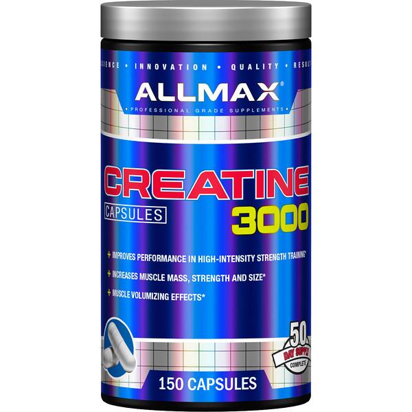 ALLMAX Nutrition, Creatine 3000, 150 Capsules