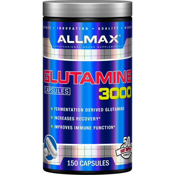 ALLMAX Nutrition, Glutamine 3000, 150 Capsules