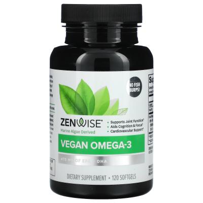 Zenwise Health, Vegan Omega-3 with Life's Omega, 120 Softgels