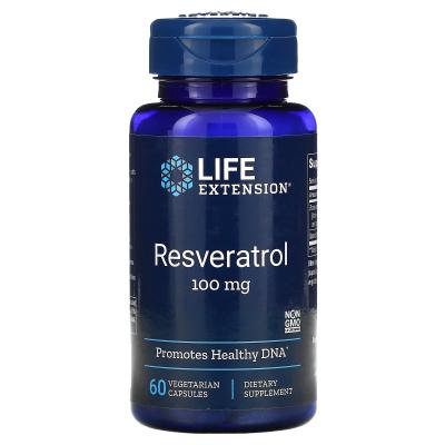 Life Extension, Resveratrol, 100 mg, 60 Vegetarian Capsules