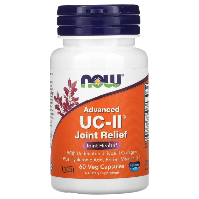 Now Foods, Advanced UC-II Joint Relief, 60 Veg Capsules