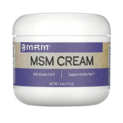 MRM, MSM Cream, 4 oz (113 g)
