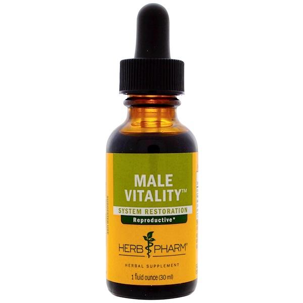 Herb Pharm, Male Vitality, 1 fl oz (30 ml)