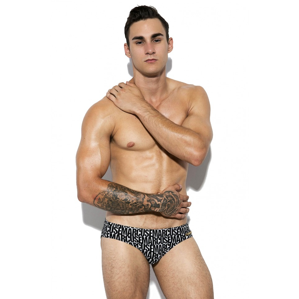 Marcuse Swimwear Amigo Brief Black