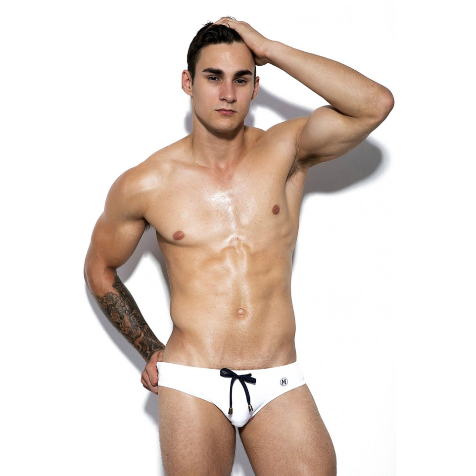 Marcuse Swimwear Tropical White