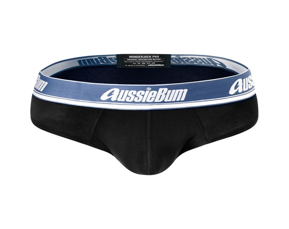 aussieBum Underwear Wonderjock Pro Brief Black