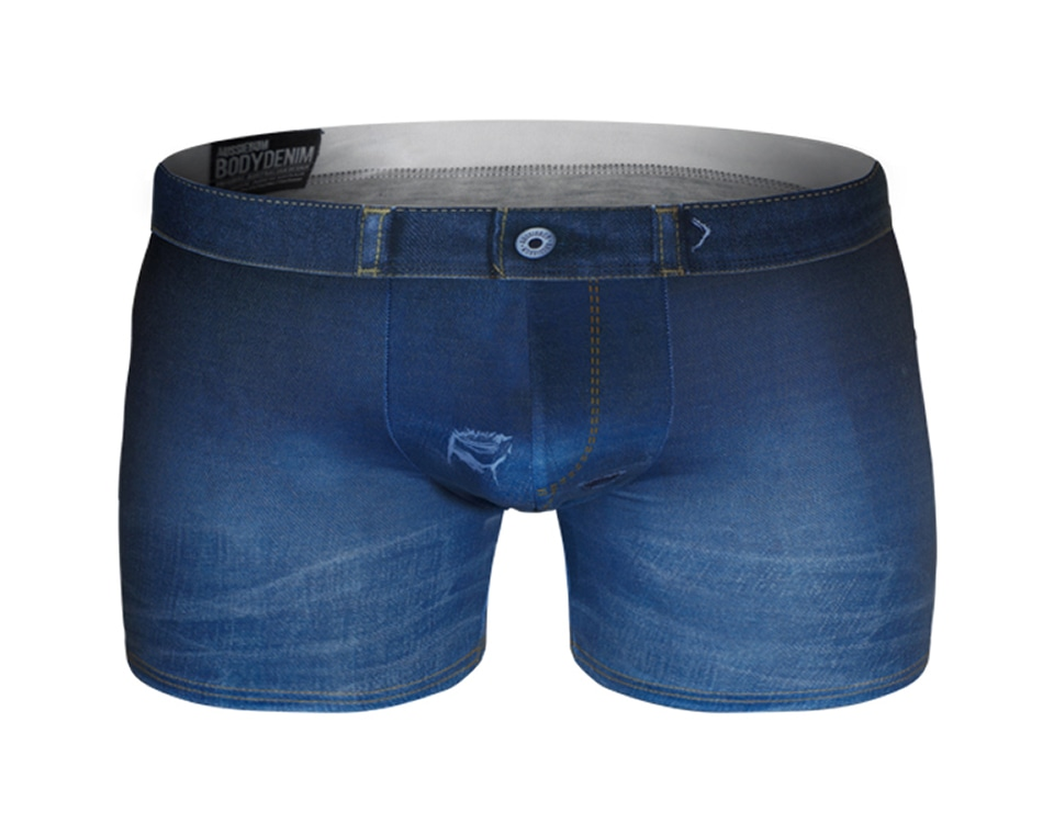 aussieBum Underwear, Bodydenim, Blue Trunk
