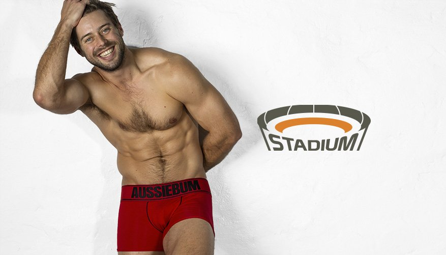 aussieBum Underwear Red Trunk