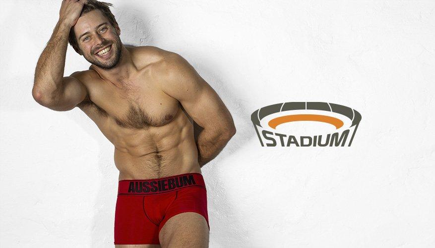 aussieBum Underwear Stadium Red Hipster