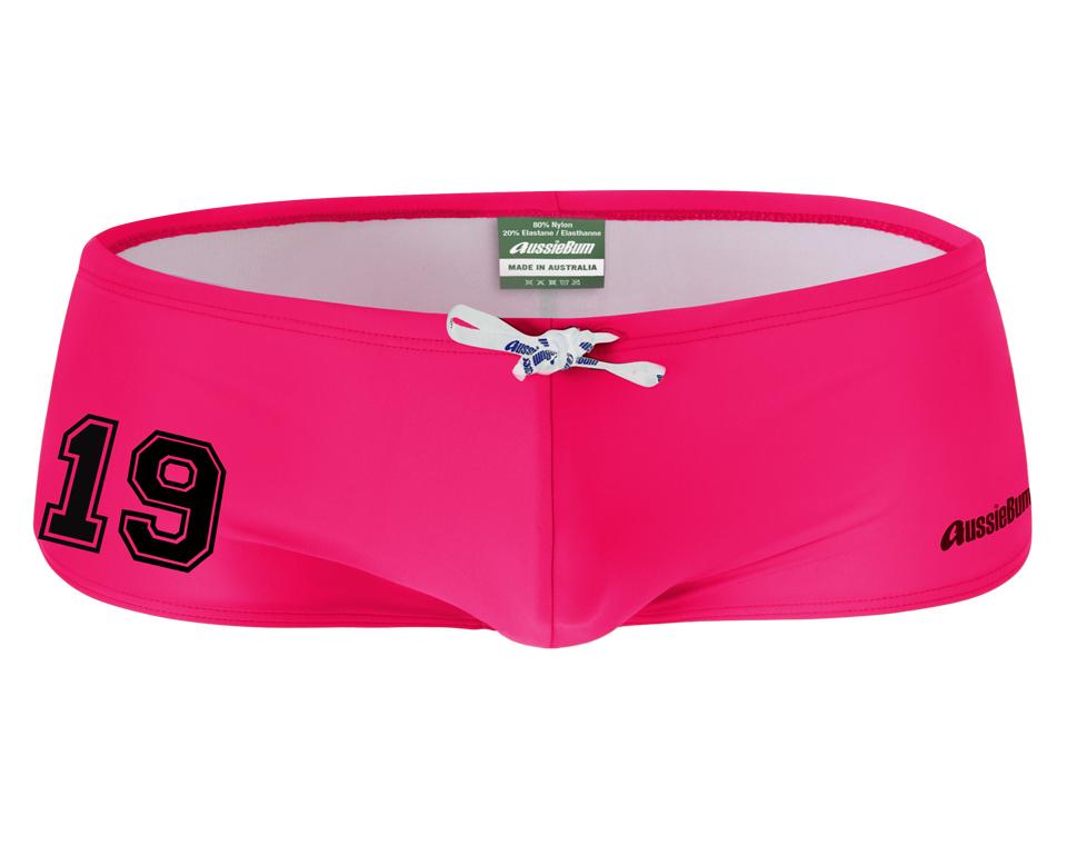 aussieBum Swimwear, League 19, Watermelon Pink Trunk