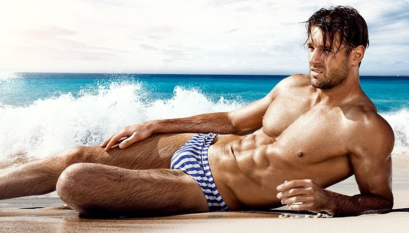aussieBum Swimwear Brando Blue Brief