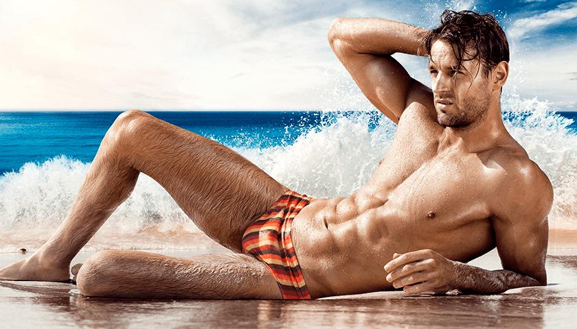 aussieBum Swimwear Olivier Orange Brief