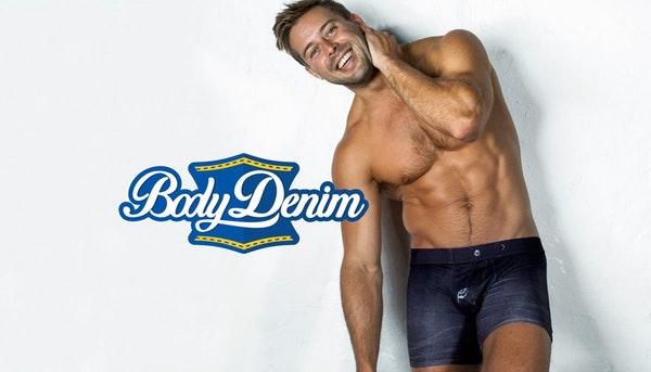 aussieBum Underwear, Bodydenim, Faded Black Trunk