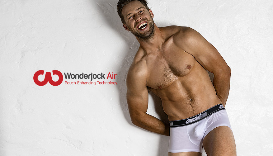 aussieBum Underwear, Wonderjock Air, White Trunk
