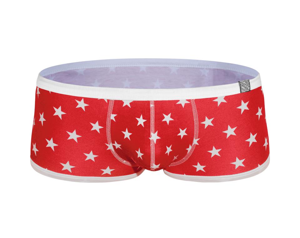 aussieBum Underwear Billy - Stars Red Trunk