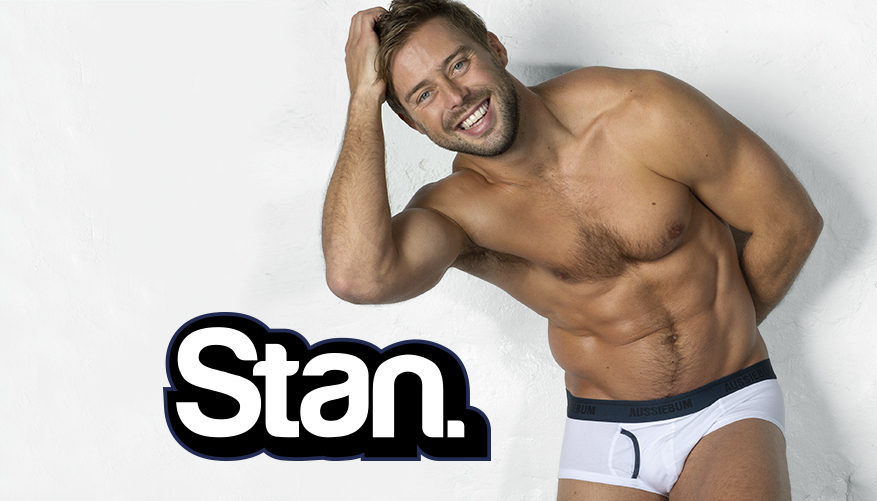 aussieBum Underwear Stan Ocean White Brief