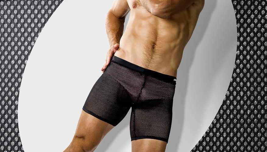 aussieBum Clothing, Catch, Black Short