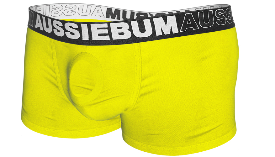 aussieBum Underwear, Orbit, Sunshine Yellow Trunk