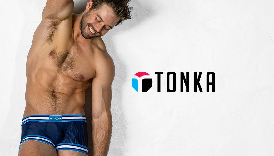 aussieBum Underwear, Tonka, Navy Blue Trunk