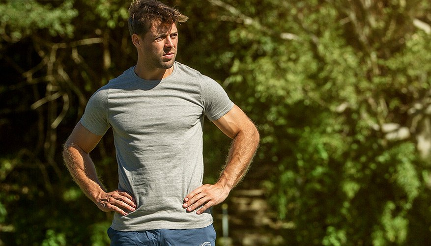 aussieBum Clothing Marle Grey Tshirt
