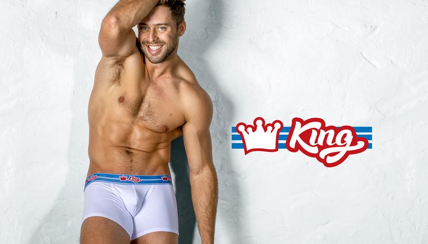 aussieBum Underwear King - White Trunk