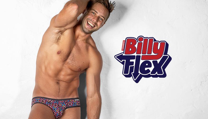 aussieBum Underwear, Billy Flex, Kaleidoscope Multicolor Brief