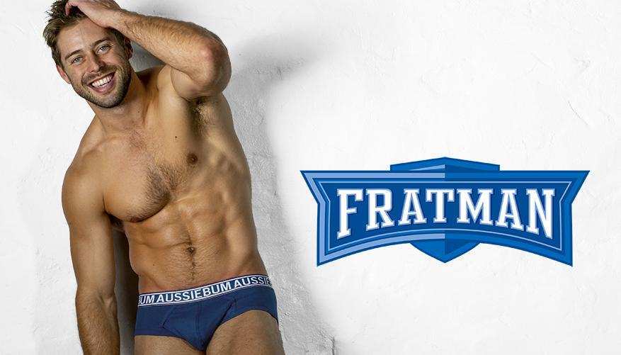 aussieBum Underwear Fratman - Navy Blue Brief