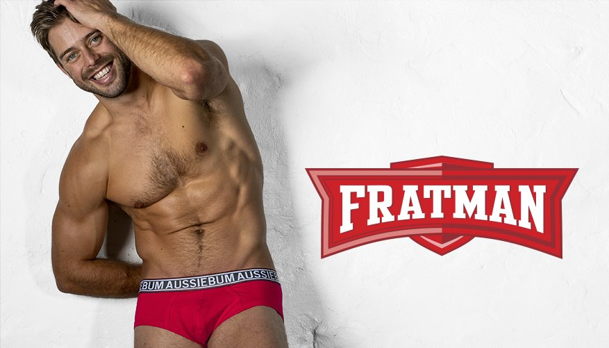 aussieBum Underwear Fratman - Red Brief