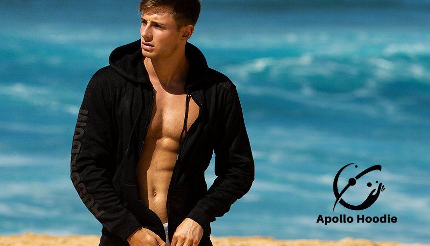 aussieBum Clothing, Apollo, Black Jacket