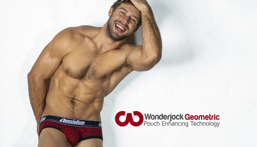 aussieBum Underwear, Wonderjock Pro, Geo Red Brief