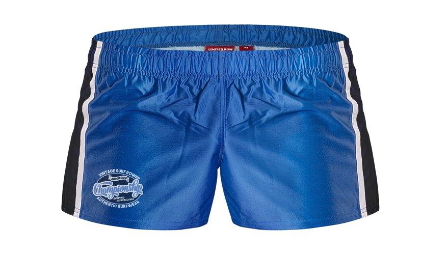 aussieBum Clothing Rugby Pro Short Blue Shorts