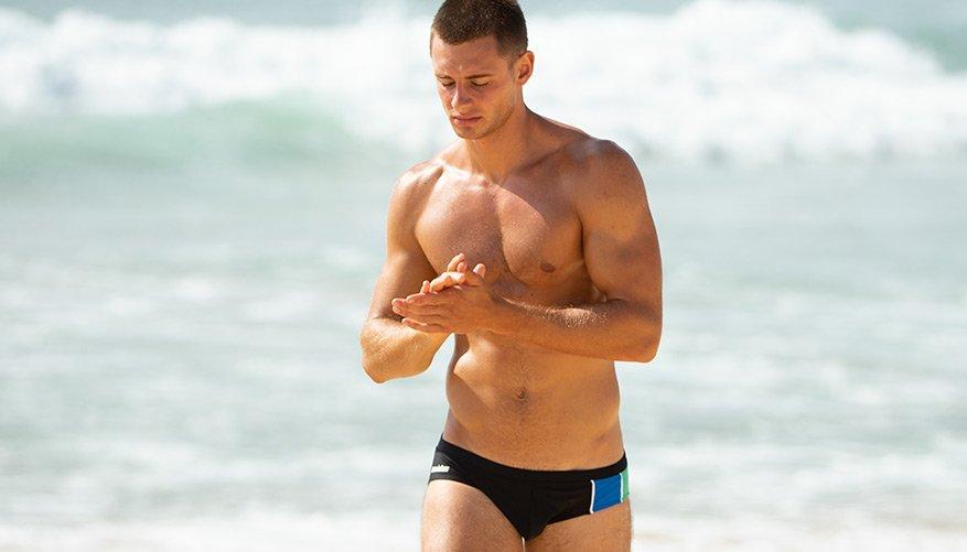 aussieBum Swimwear, Activate, Black Brief