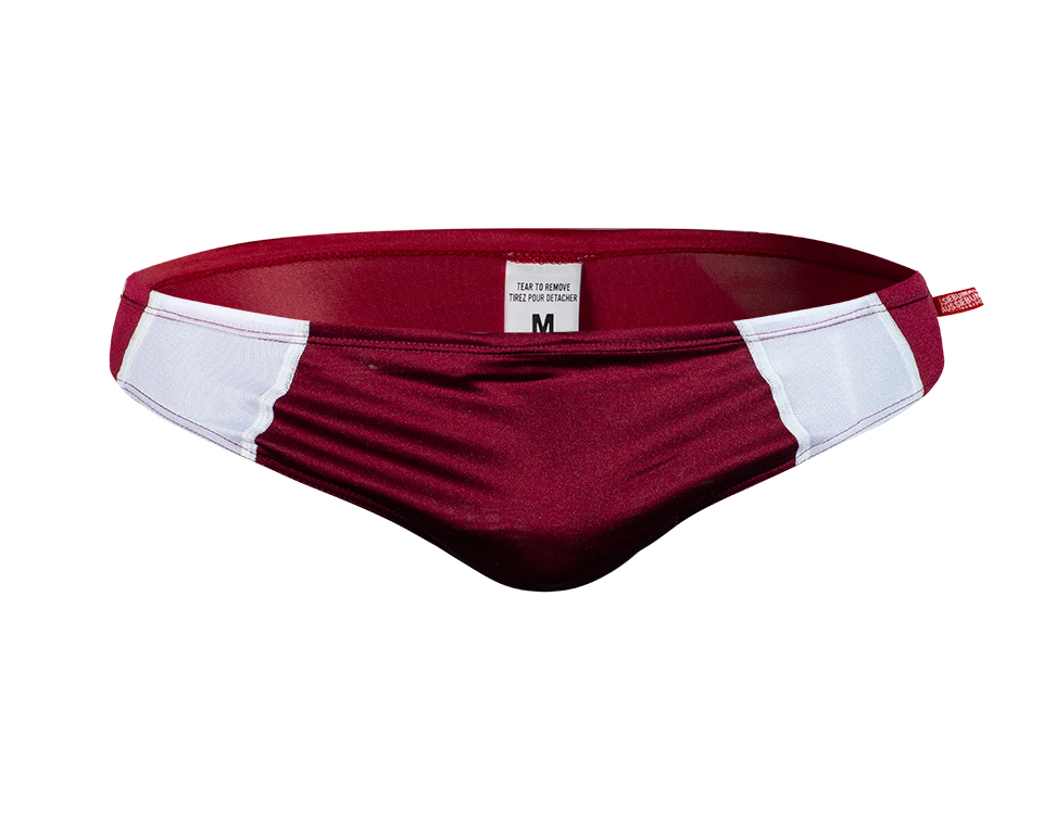 aussieBum Swimwear Maroon Red Brief