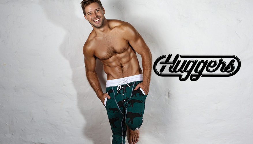 aussieBum Clothing, Huggers, Green Pant