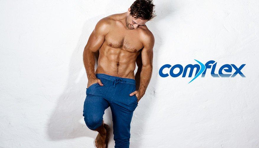 aussieBum Clothing, ComFlex, Blue Pant