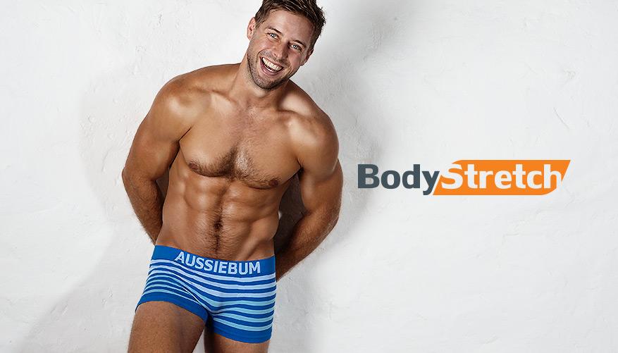 aussieBum Underwear Bodystretch - Stone Blue Trunk