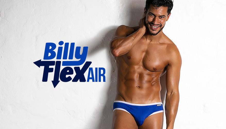 aussieBum Underwear Billy Flex Air - Royal Blue Brief