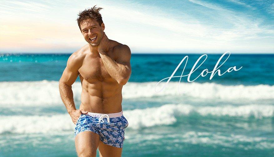 aussieBum Swimwear Blue Short