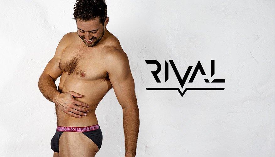 aussieBum Underwear, Rival, Charcoal Grey Bikini