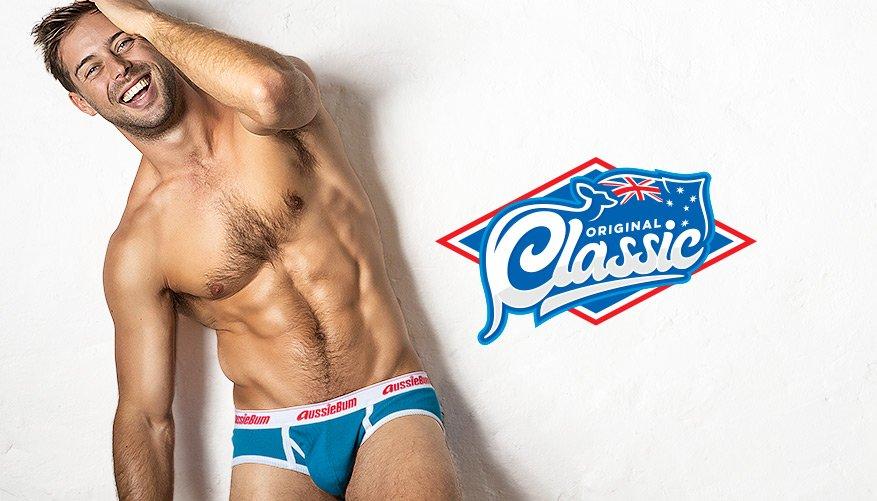 aussieBum Underwear, Classic Original, Pacific Blue Brief