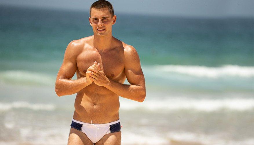aussieBum Swimwear RobotNik White Brief
