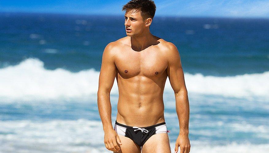 aussieBum Men/'s Swimwear WJ Storm Brief Briefs