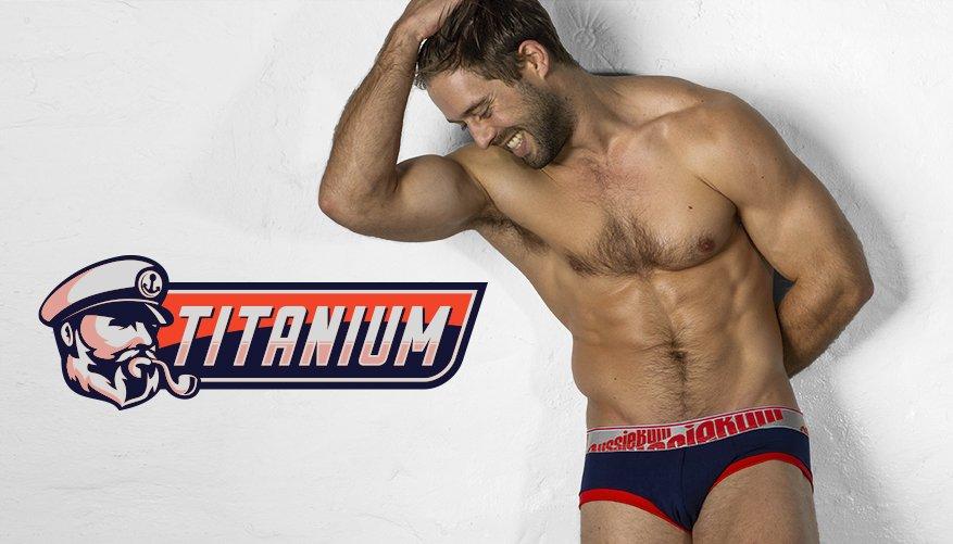 aussieBum Underwear Navy Blue Brief