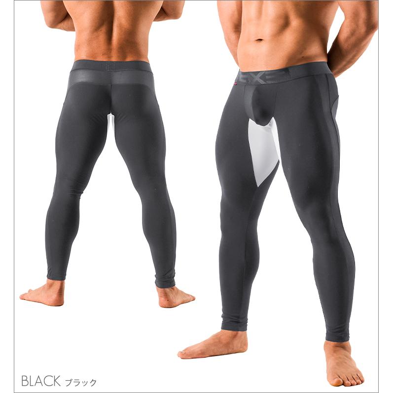 GX3 Bottoms GX3 RELAX MESH LONG SPATS - BLACK