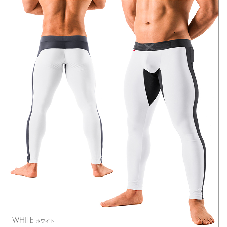 Bottoms GX3 RELAX MESH LONG SPATS - WHITE