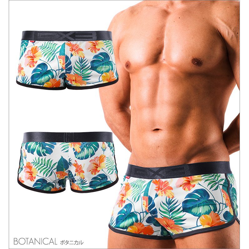 GX3 Bottoms GX3 SUPER PRINT SUPER TRUNKS - BOTANICAL