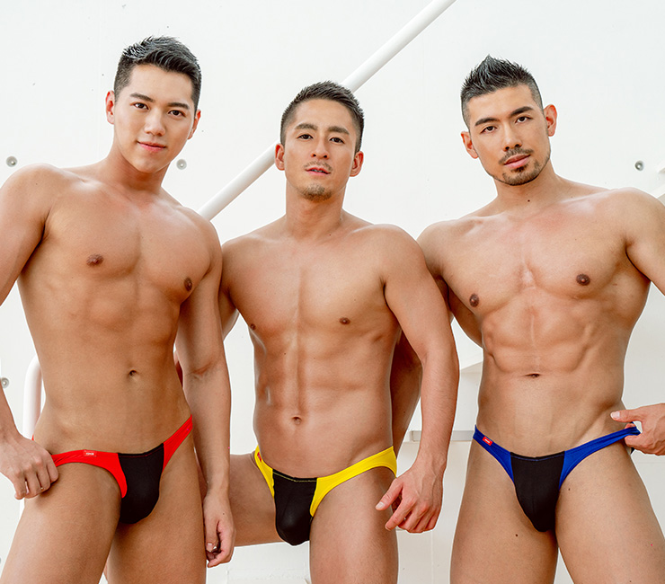 GX3 Bikini GX3 SPORTS air COLOR PANEL ULTRA V BIKINI  แพ๊ค 3 ชิ้น