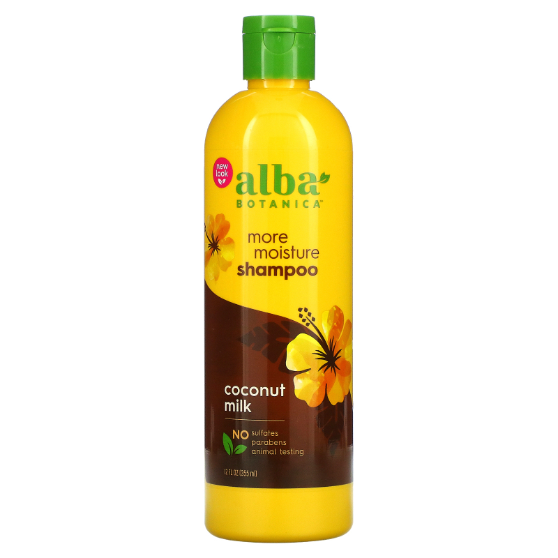 Alba Botanica, Drink it Up Coconut Milk Shampoo, 12 fl oz (355 ml)